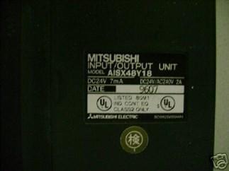 PLC Mitsubishi A1SX48Y18