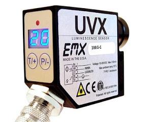 Cảm biến quang EMX UVX Luminescence Sensors – See the Invisible